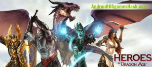 Heroes of Dragon Age Hack for Android Unlimited Gems, Coins Cheats