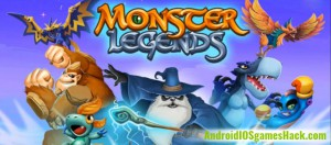 Monster Legends Hack for Android and iOS Add Gold, Food and Gems Cheats