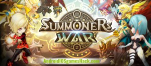 Summoners War: Sky Arena Hack for Android and iOS Add Mana, Crystals, Glory Points Cheats