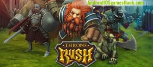 Throne Rush Hack for Android and iOS Get Gold, Gems and Food Cheats