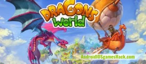 Dragons World Hack for Android and iOS Add Unlimited Gold, Crystals and Food Cheats